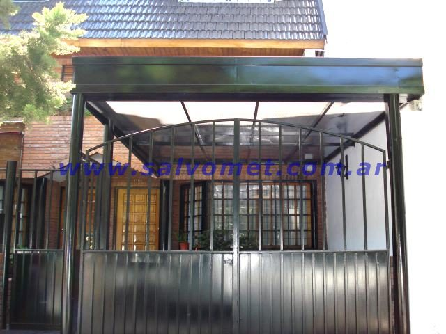 Techos para cocheras techos de chapa techos para garages for Techos de policarbonato para garage