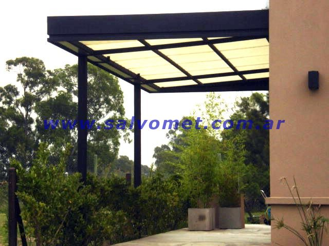 herreria fabrica de techos para garages de patios