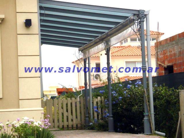 Techos para cocheras techos de chapa techos para garages for Techos de policarbonato para balcones