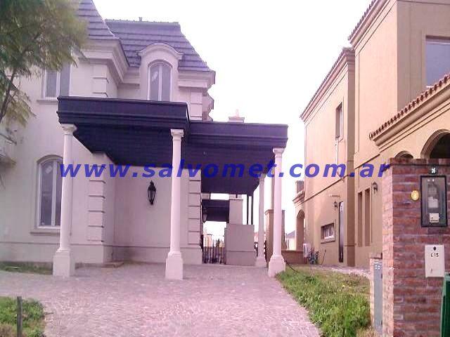 Techos para cocheras techos de chapa techos para garages - Tipos de toldos para patios ...