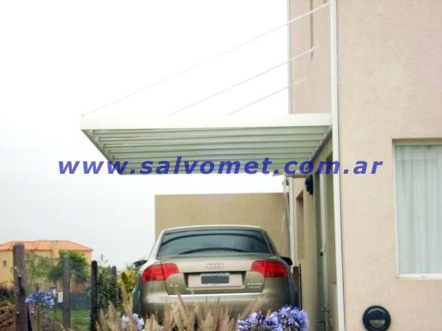 Techos de policarbonato garages cocheras car interior design - Techos para garajes ...