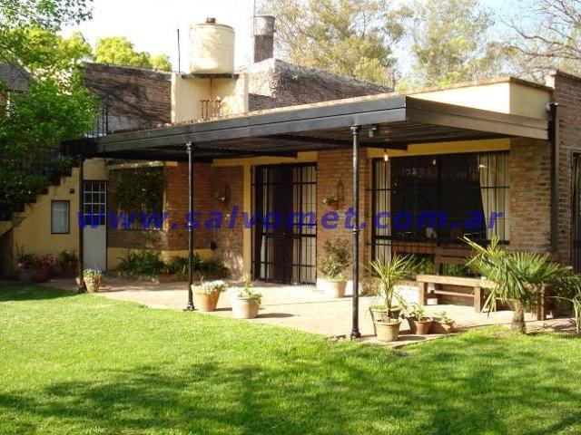 Techos para cocheras techos de chapa techos para garages for Techos para galerias exterior